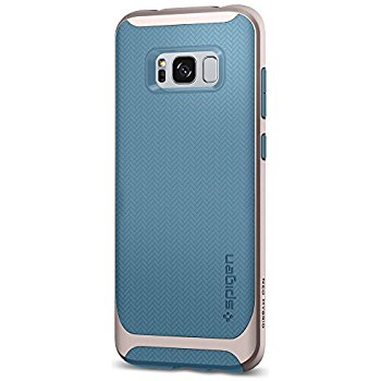 uk availability eb1b4 2f449 SPIGEN NEO HYBRID DUAL LAYER BUMPER COVER FOR SAMSUNG GALAXY S8 PLUS -  NAIGARA BLUE